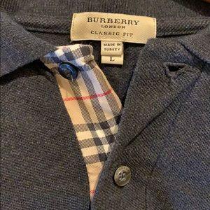 Men's Burberry polo